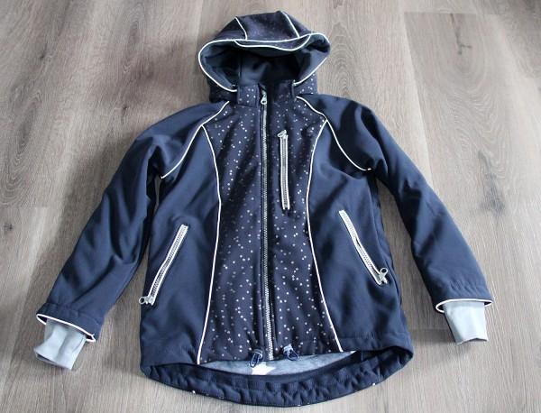 Softshell Jacke 'Sternenzauber' dunkelblau
