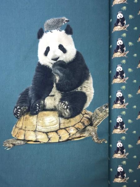 Stenzo Jersey-Panel Panda auf Schildkröte