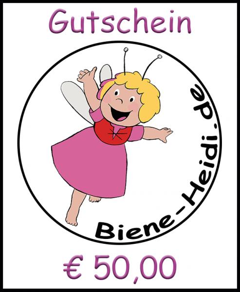 Geschenkgutschein Euro 50