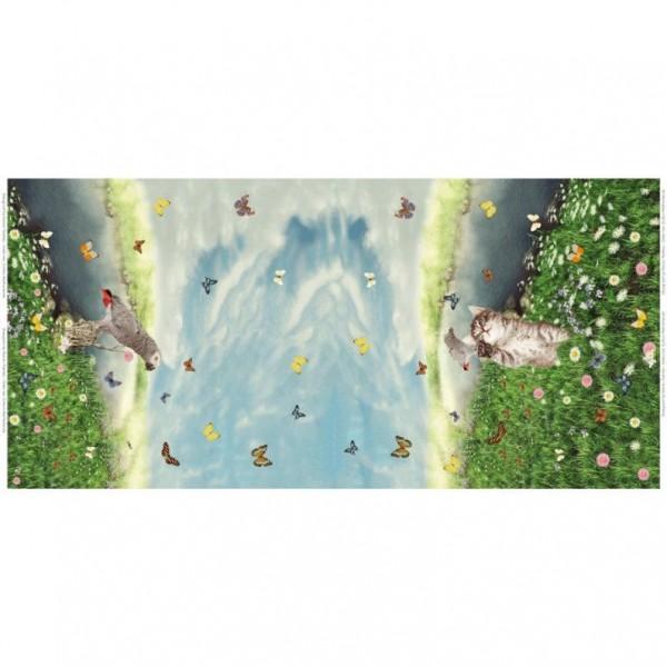 Stenzo Jersey-Panel Kätzchen und Papagei