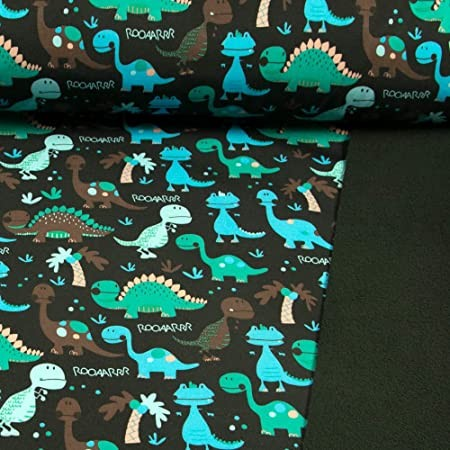 Softshell Dinos auf schwarz