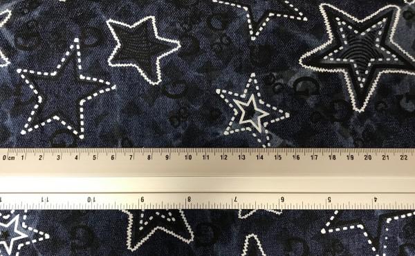 Jeans stretch Star Print groß