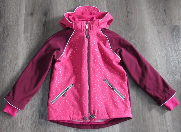 Softshell Jacke 'Stern' pink