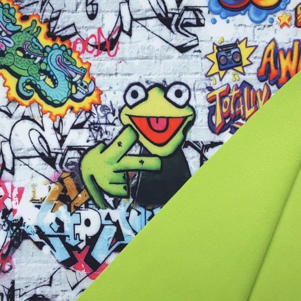 Softshell Graffiti Frosch