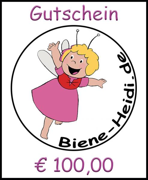 Geschenkgutschein Euro 100